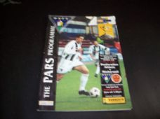 Dunfermline Athletic v Motherwell, 2001/02 [SC]